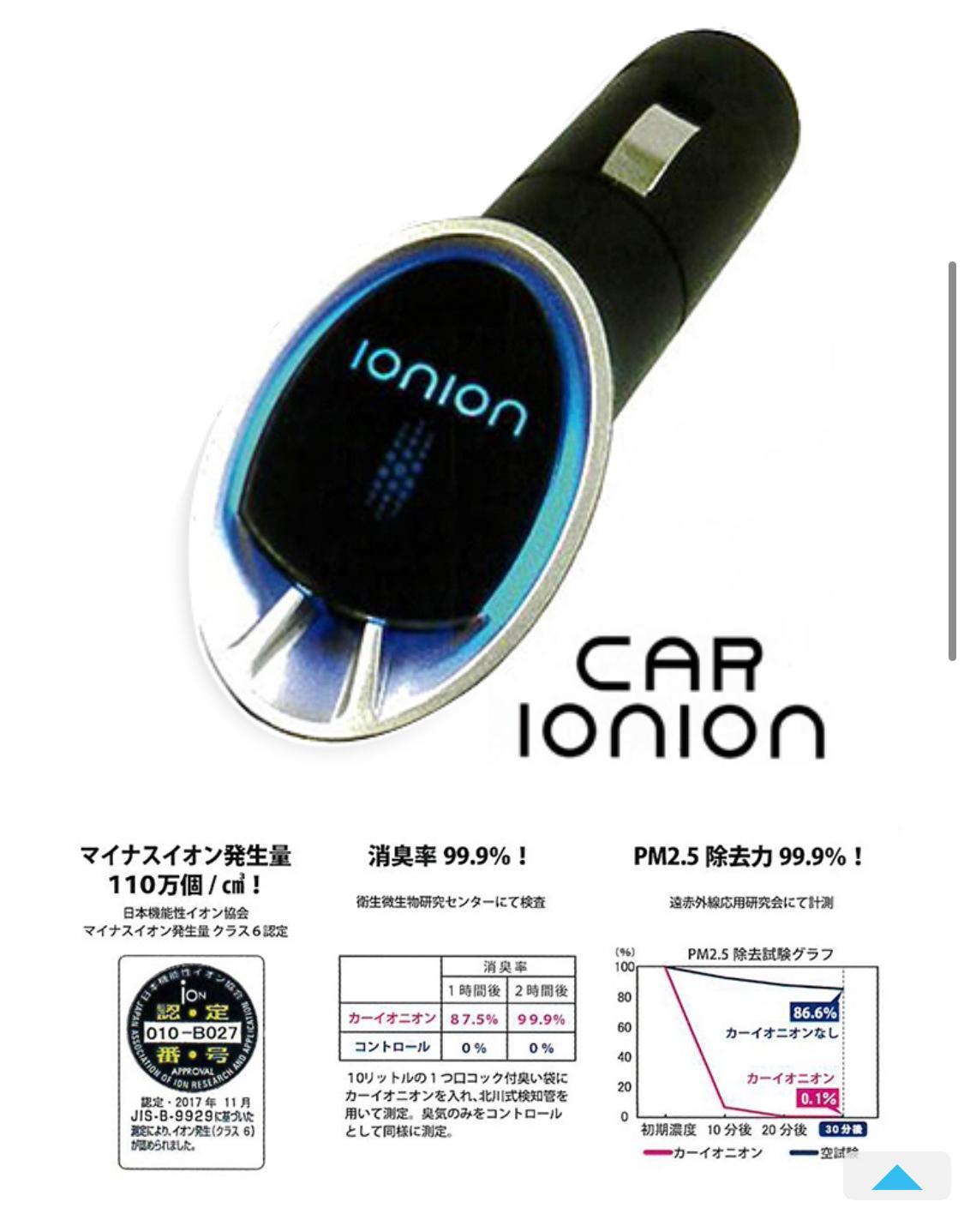 Car IONION車載負離子機