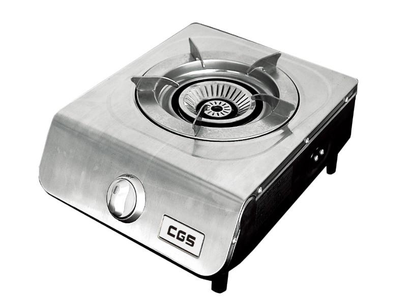 皇冠牌CK8168不銹鋼石油氣單頭煮食爐(需另付安裝費)