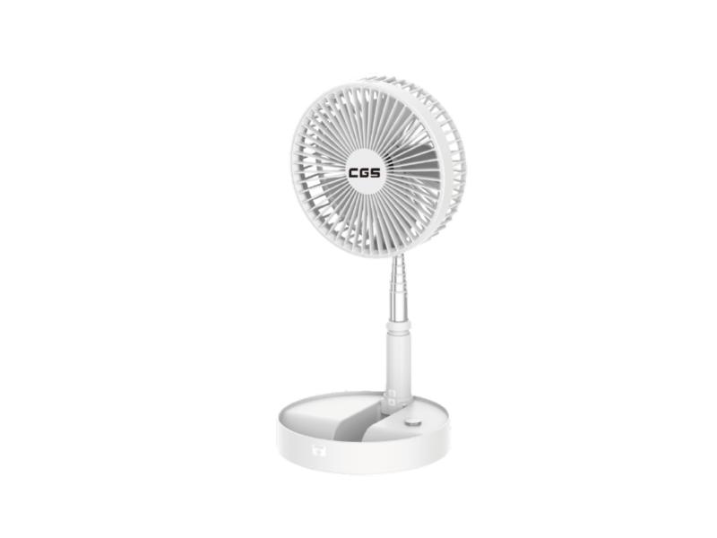 皇冠牌CF02 無線多角度遙控伸縮折疊風扇(白色)(需另付運送費)