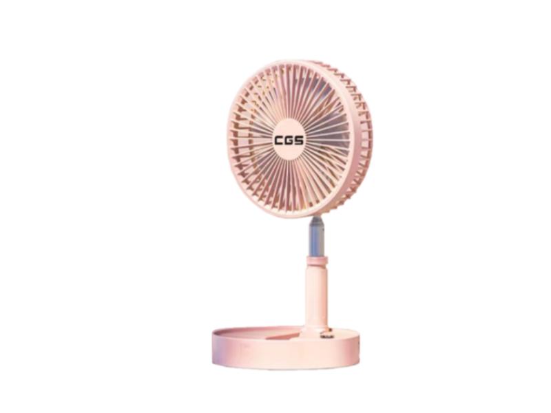 皇冠牌CF01無線遙控伸縮折疊風扇( 粉紅色)(需另付運送費)