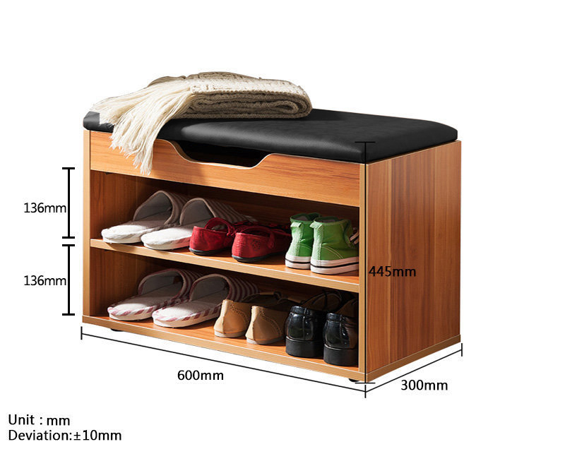 MR二層空格鞋櫃 (鈦白)