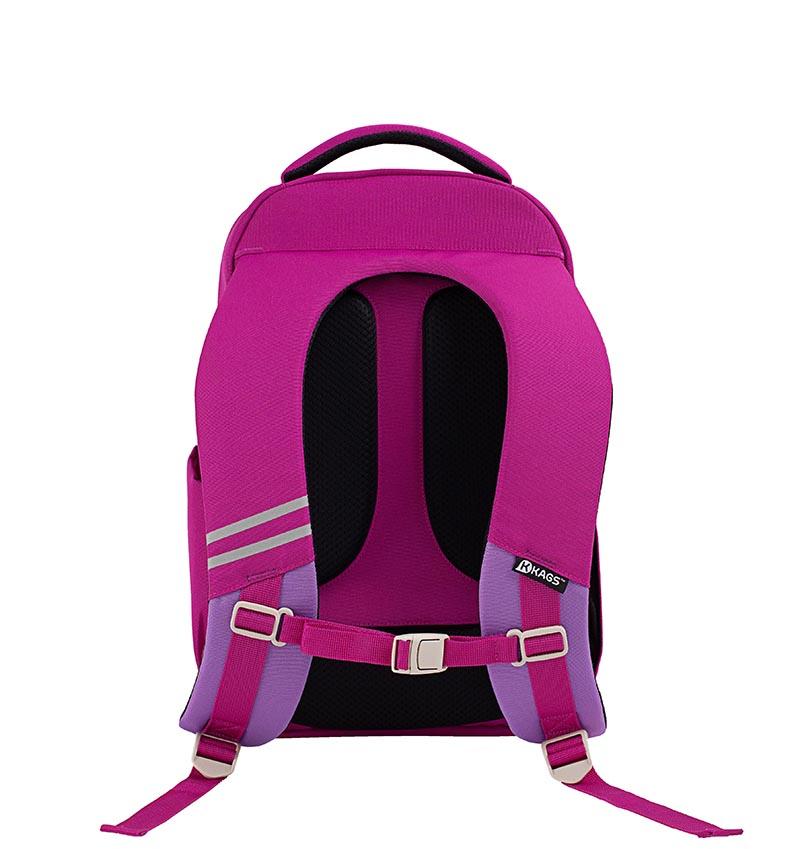 KAGSASHTON 4 人體工學小學生用背包 桃紅色