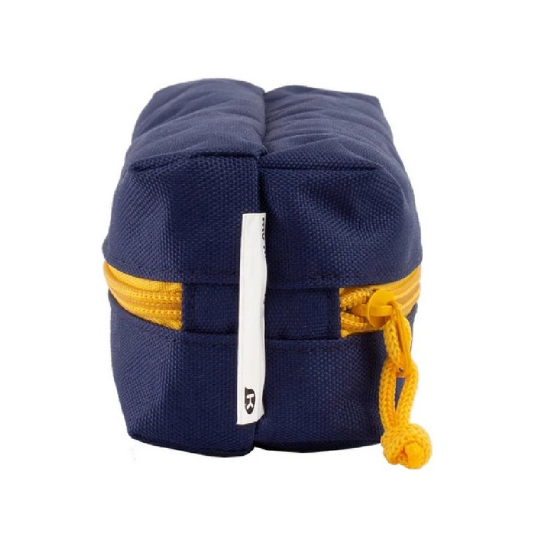 KAGS BRETT 系列超輕便雙分隔內裱膠筆袋 - 藍色