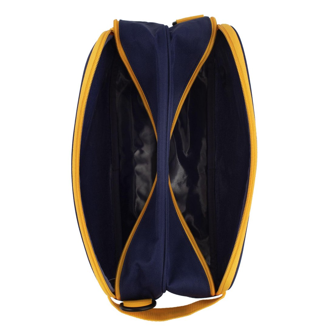 KAGS BRETT 系列超輕便雙分隔內裱膠鞋袋連揹帶 - 藍色