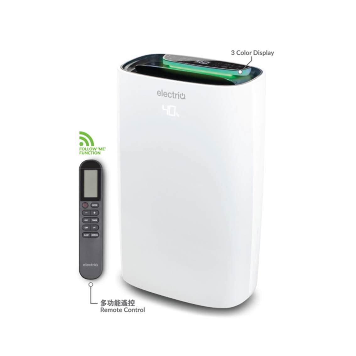 ELECTRIQ2合1空氣淨化抽濕機24公升