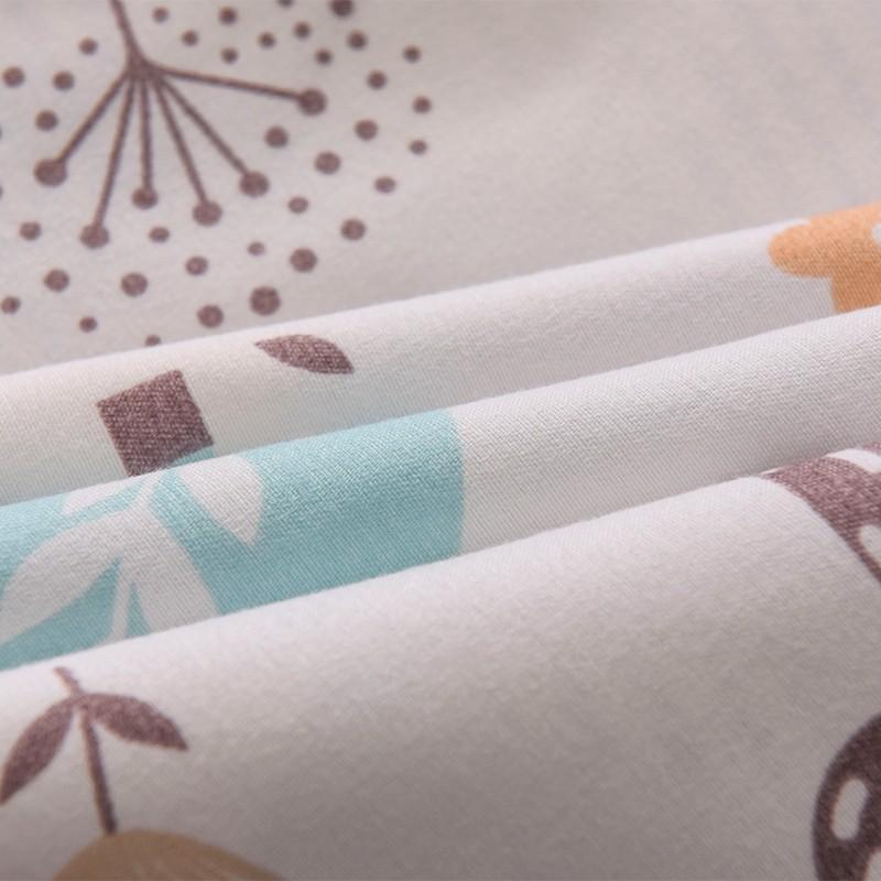 Aisuru1560針北歐款磨毛床品套裝-奇幻森林 - 單人