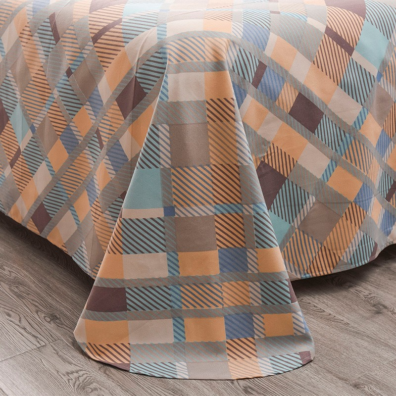 Aisuru1560針北歐款磨毛床品套裝-奇幻森林 - 雙人加大 *供應商直送 限門市自取