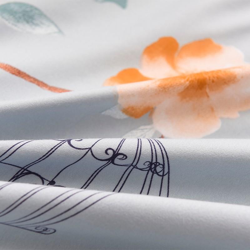 Aisuru1560針北歐款磨毛床品套裝-花城之都 (雙人)