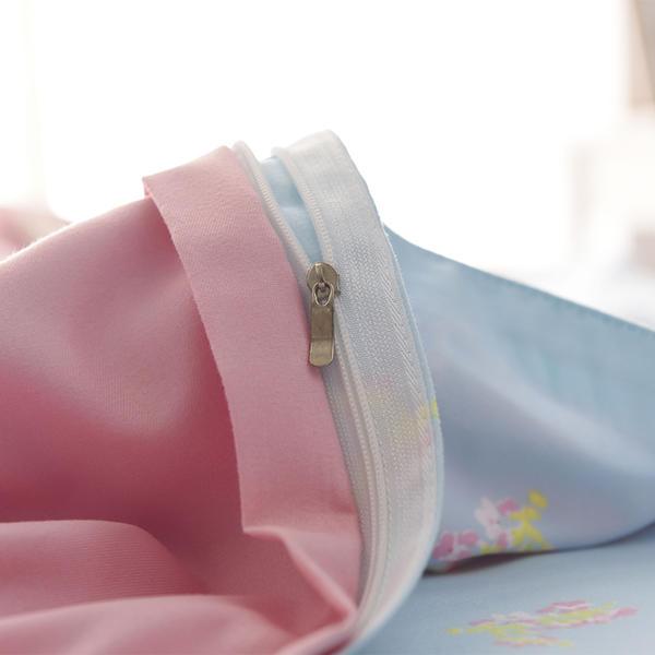 Aisuru1560針北歐款磨毛床品套裝-花之密語(雙人)