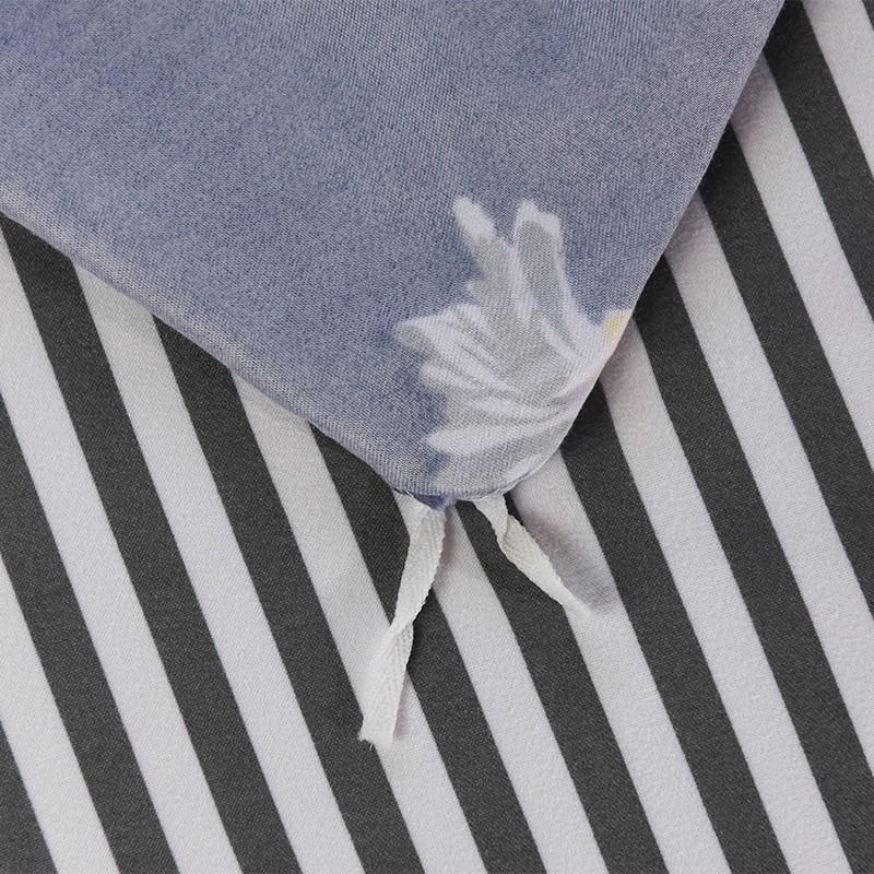 Aisuru1560針北歐款磨毛床品套裝-小雛菊(加大) *供應商直送 限門市自取