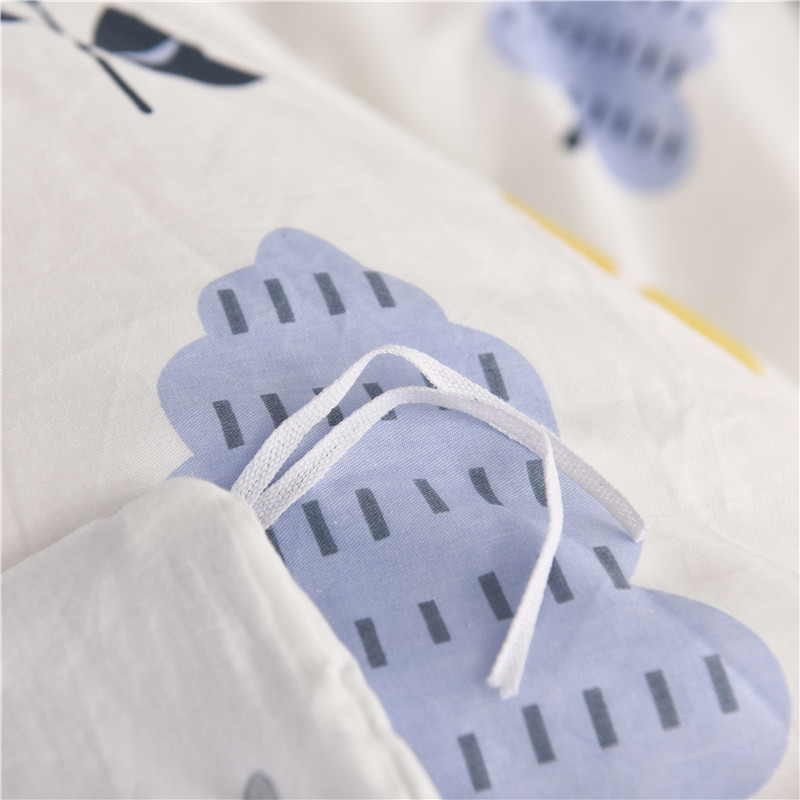 Aisuru1920 針簡約全棉寢具套裝(月光森林 / 單人)