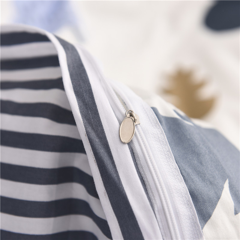 Aisuru1920 針簡約全棉寢具套裝(月光森林 / 雙人加大) *供應商直送 限門市自取