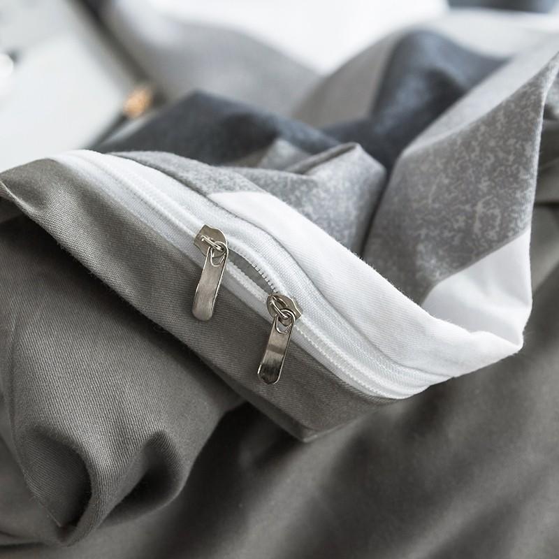 Aisuru1960針北歐款磨毛床品套裝-沃伦(加大)