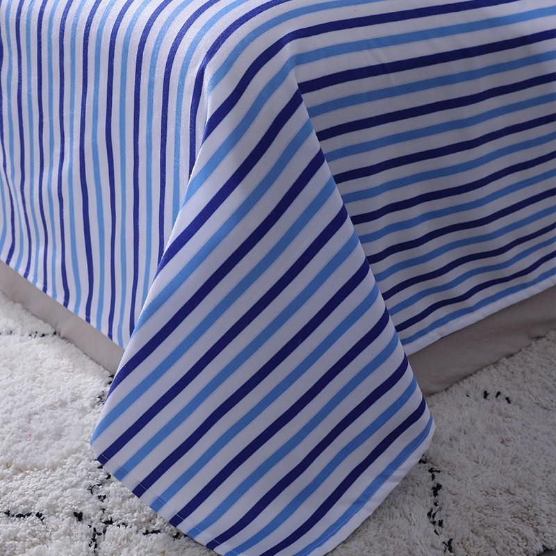 Aisuru1560針北歐款磨毛床品套裝-檸檬 -雙人