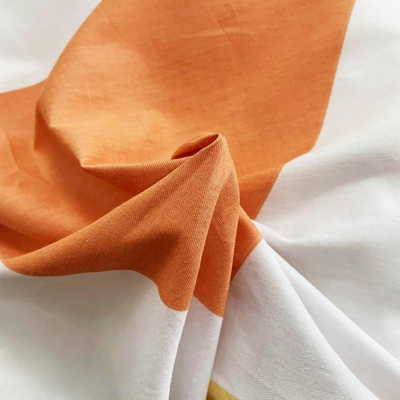 Aisuru1960針全棉床品套裝彩色菱形(雙人)*供應商直送 限門市自取