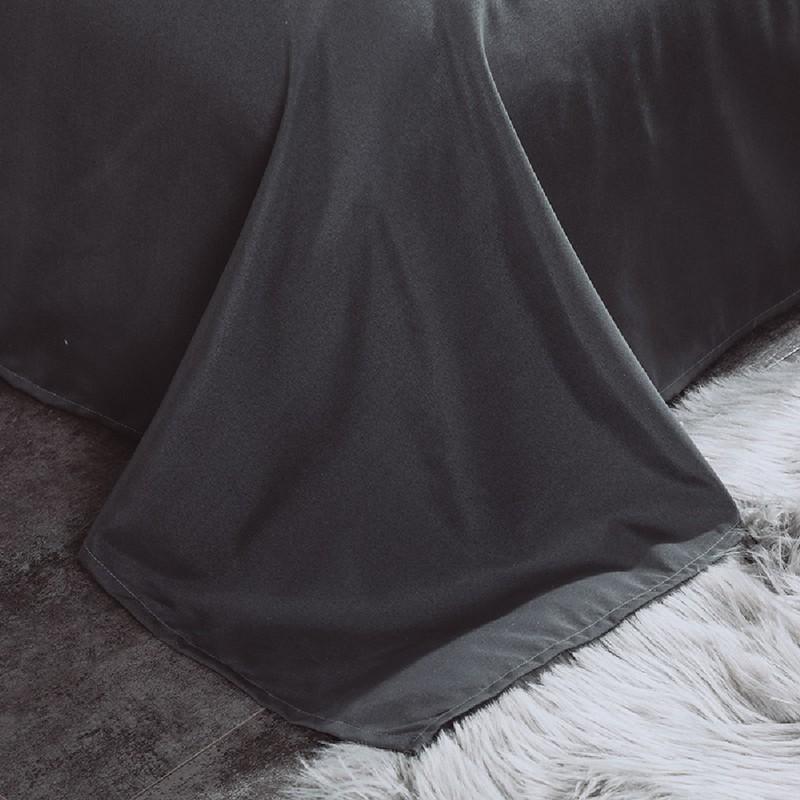 Aisuru1560針北歐款磨毛床品套裝白灰簡約(單人)*供應商直送 限門市自取