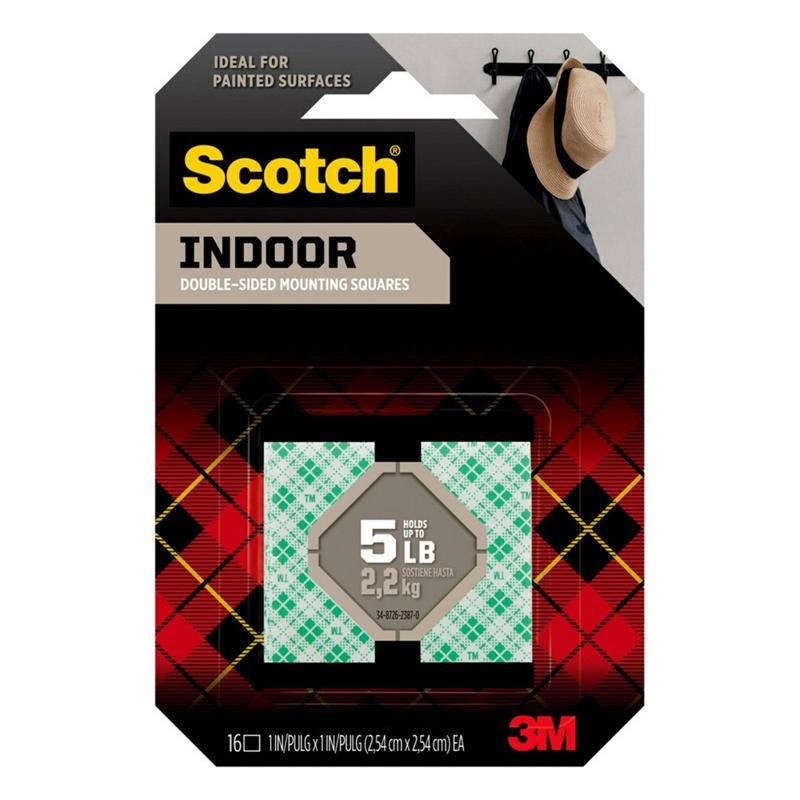 3M塊裝雙面海綿膠貼 14x9.5cm
