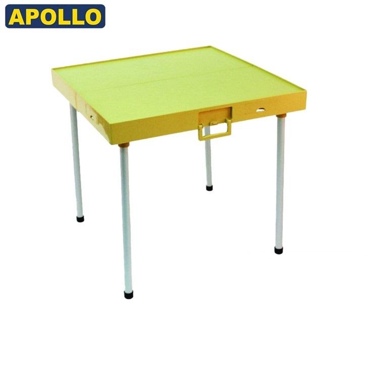 APOLLO摺合式旅行麻雀檯金色