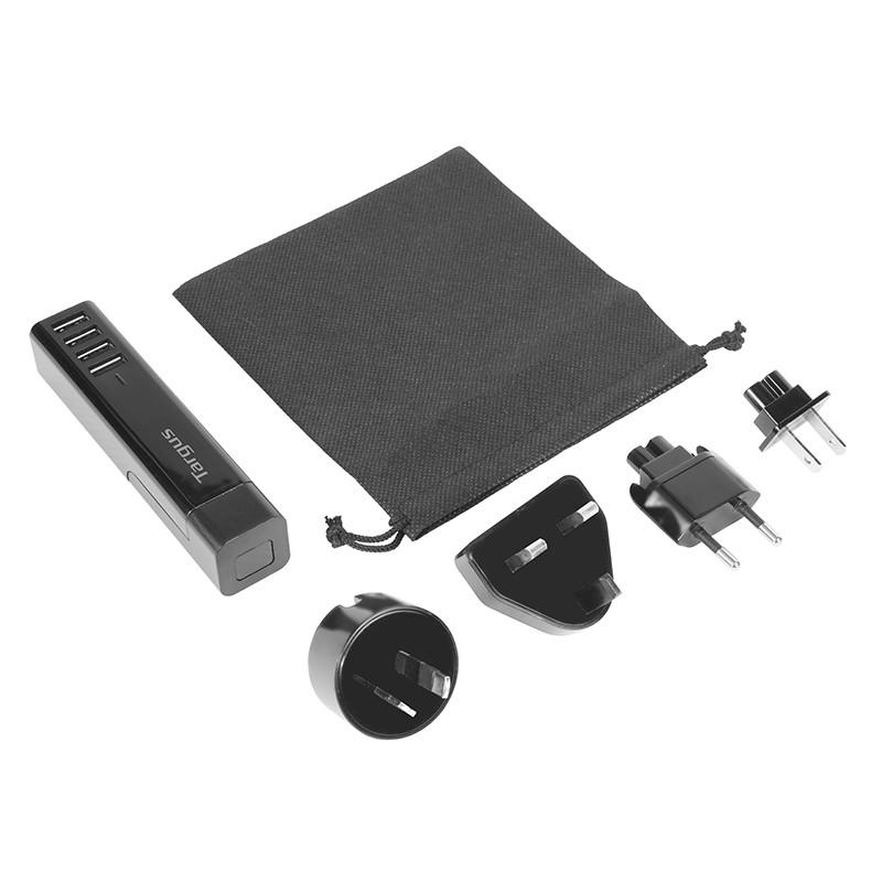 Targus Turbo四位USB旅行充電插頭Turbo四位USB旅行充電插頭