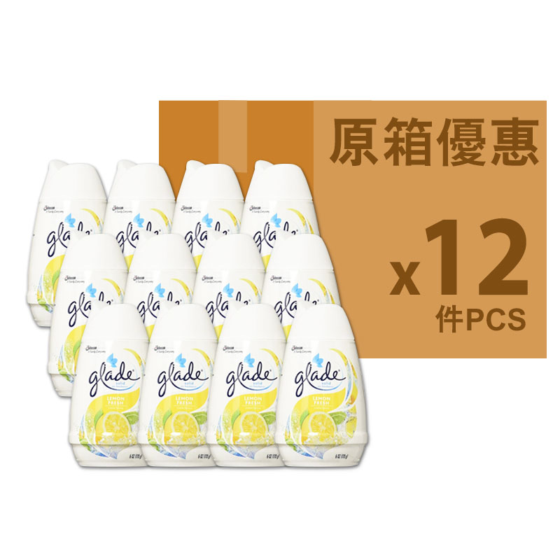GLADE SOLID空氣芳香劑檸檬味170g(原箱海外版)
