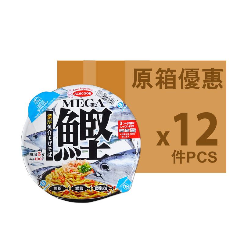 ACECOOK MEGA鰹。濃厚魚介拌麵128G(原箱)