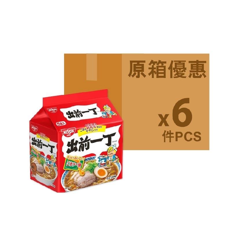 日清(日版)出前一丁麻油味5's(原箱)