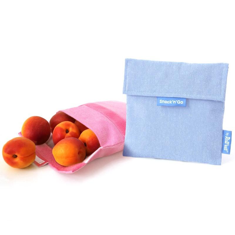 Snack'n'Go環保食物袋-淺藍
