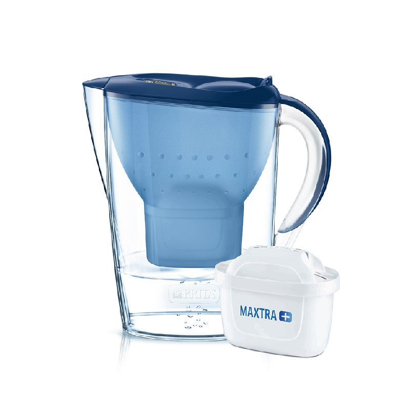 BRITA海洋藍色水濾壺 2.4L 內附 1個濾芯 供應商發貨, 到貨將另行通知取貨)