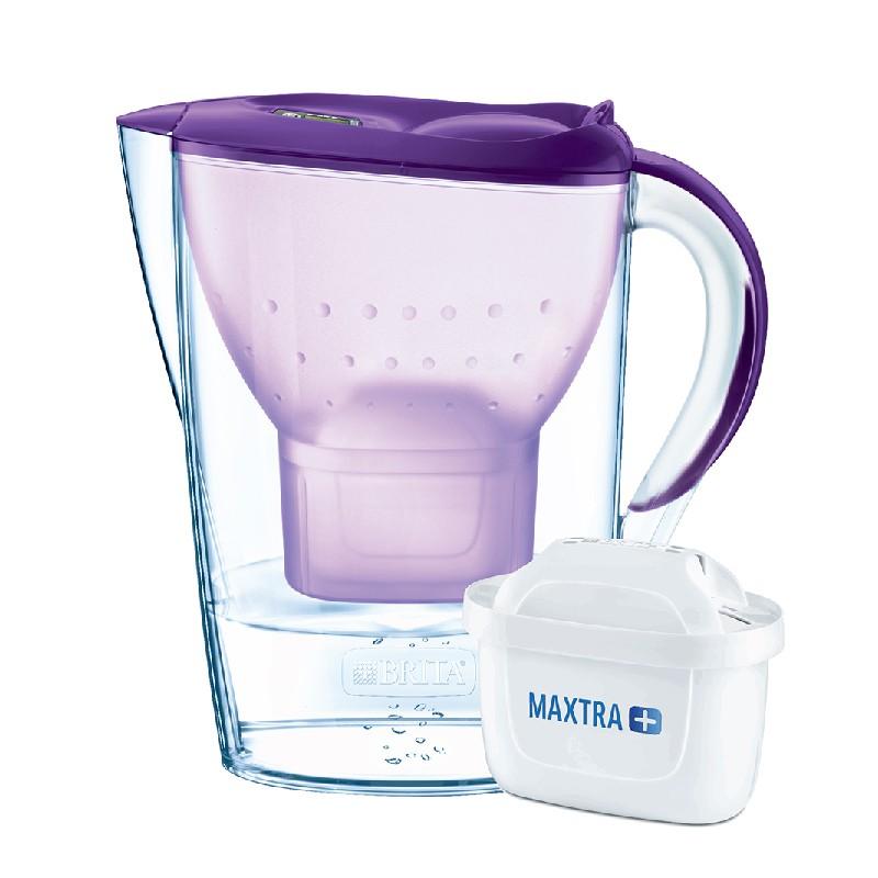 BRITA丁香紫色濾水壺 2.4L 內附 1 個濾芯 (供應商發貨, 到貨將另行通知取貨)