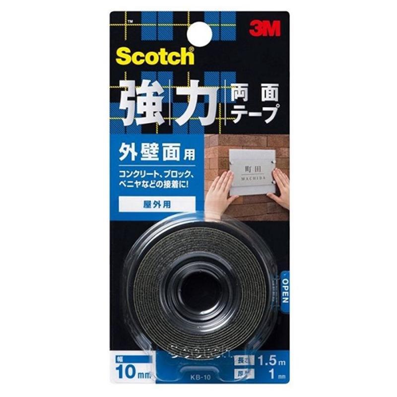 3M自助產品系列強力雙面貼 (戶外用)  8.5x17cm