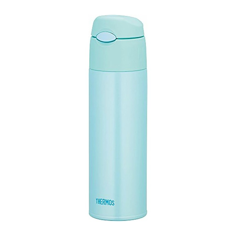THERMOS彈蓋真空保冷瓶 (冷水用) - 薄荷綠