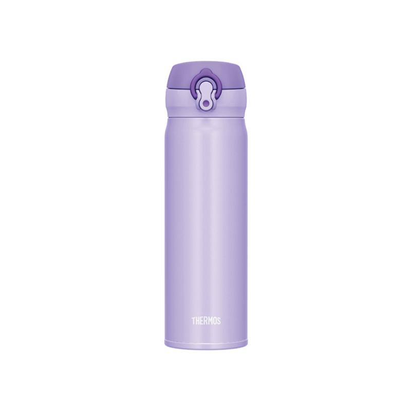 THERMOS彈蓋保溫瓶-粉紫