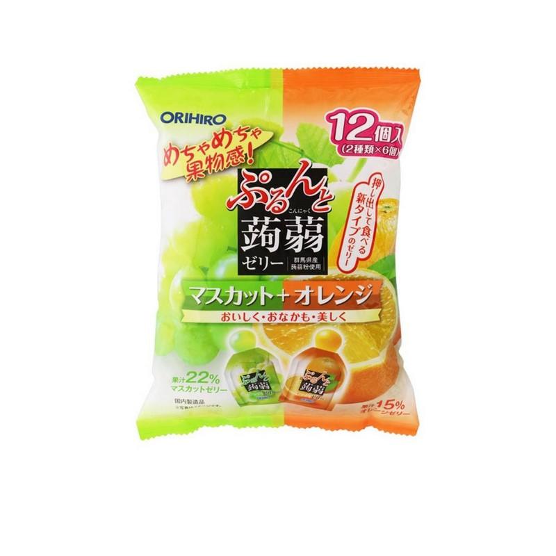 ORIHIRO香橙提子雙式蒟蒻