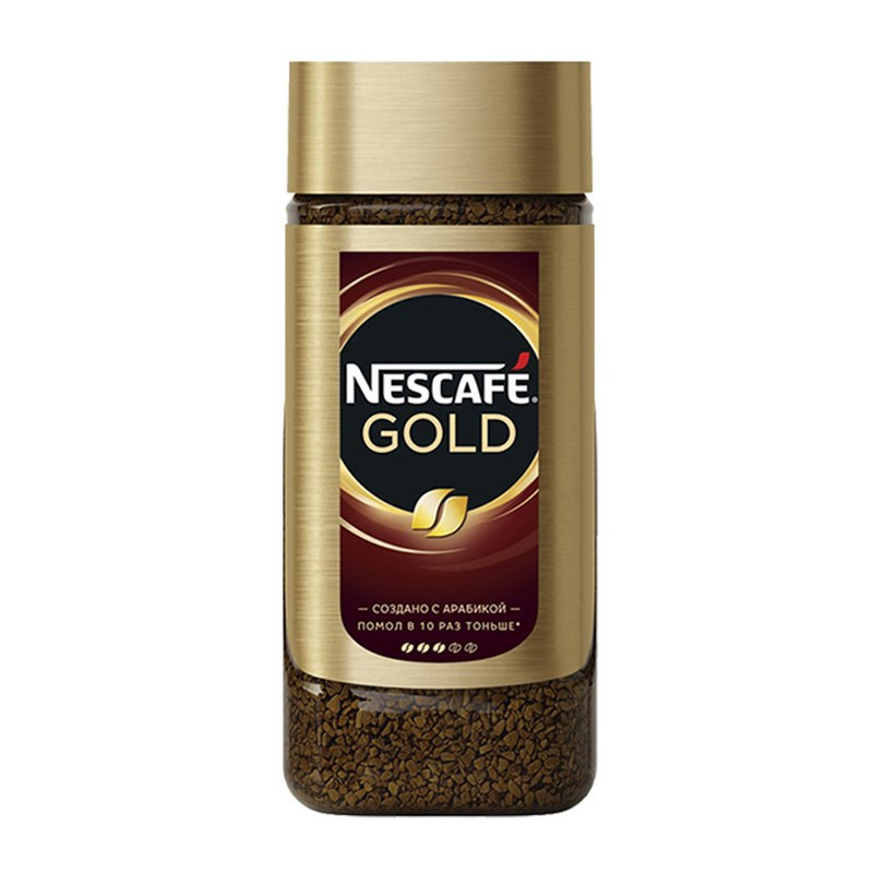 NESCAFE金牌樽裝咖啡 190G
