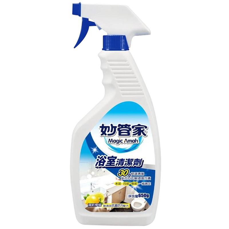 妙管家浴室清潔噴霧檸檬