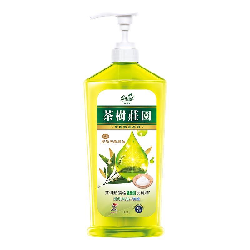 台灣花仙子茶樹超濃縮洗碗精