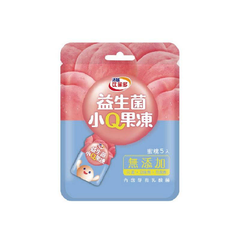 比菲多小Q果凍-蜜桃