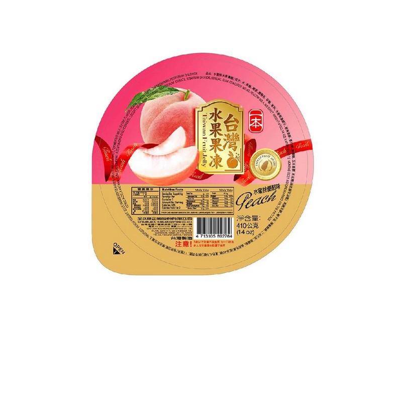 一本水蜜桃優酪味果凍