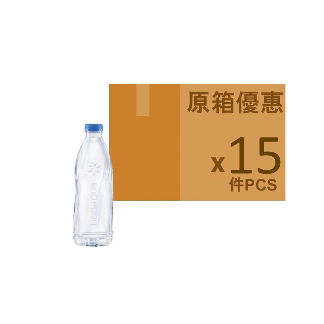 BONAQUA 礦物質水600ML(原箱)