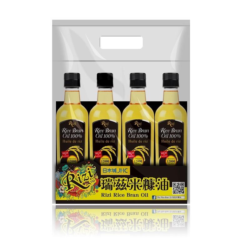 瑞茲米糠油4支優惠裝