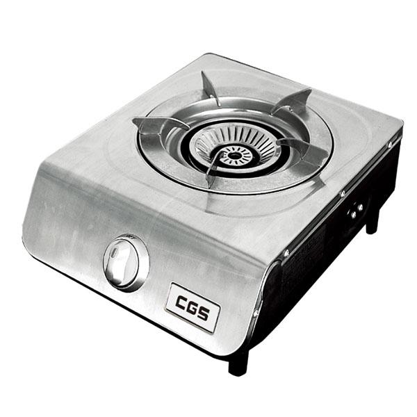 皇冠牌CK8168不銹鋼煤氣單頭煮食爐(需另付安裝費)