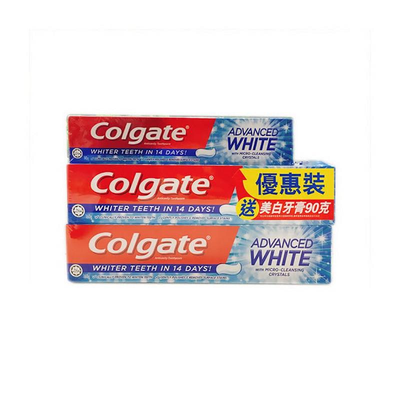 COLGATE 孖裝超感白牙膏