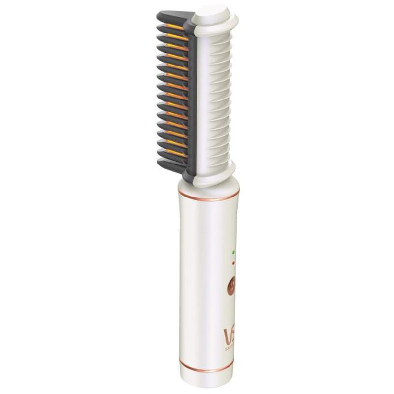 沙宣充電式電熱梳白