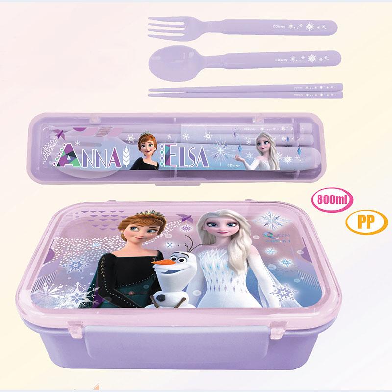 FROZEN餐盒+餐具套庄