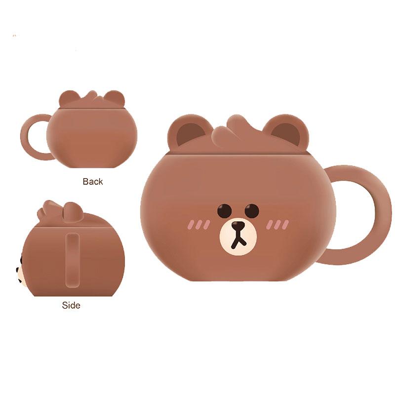 LINE FRIENDS熊大立體陶瓷杯