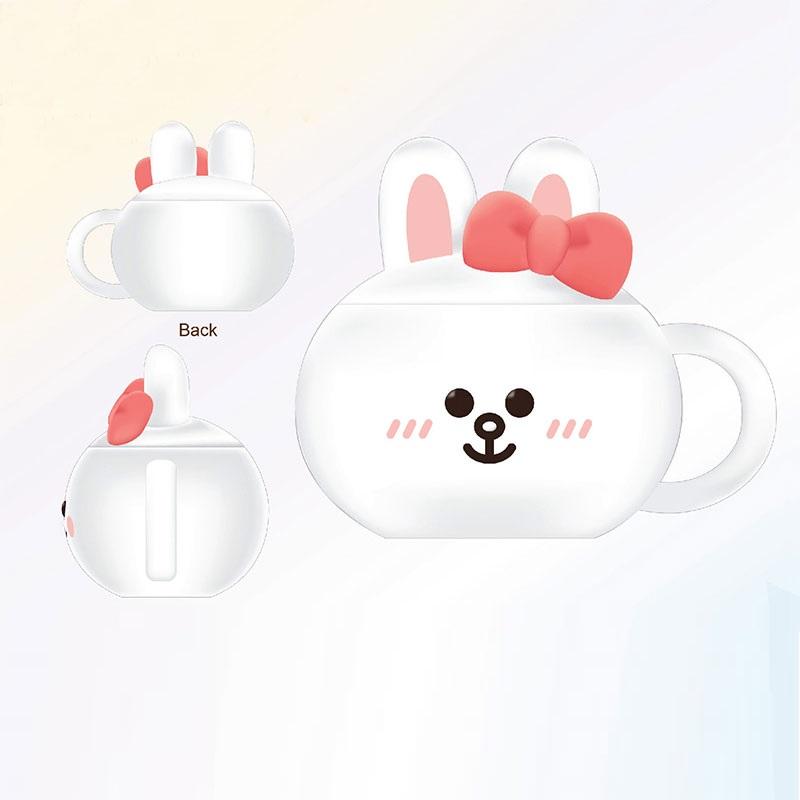 LINE FRIENDS兔仔立體陶瓷杯