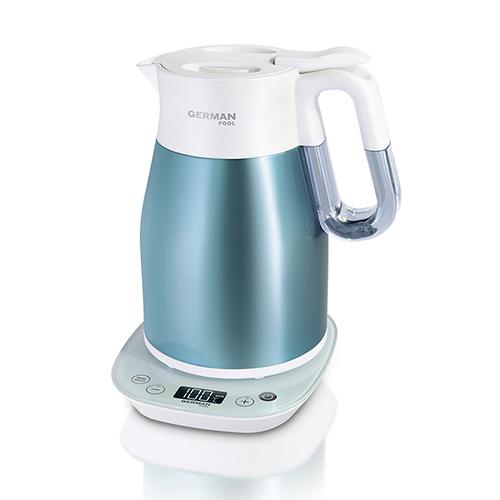 德國寶1800W真空無線控溫電熱水壺(藍)