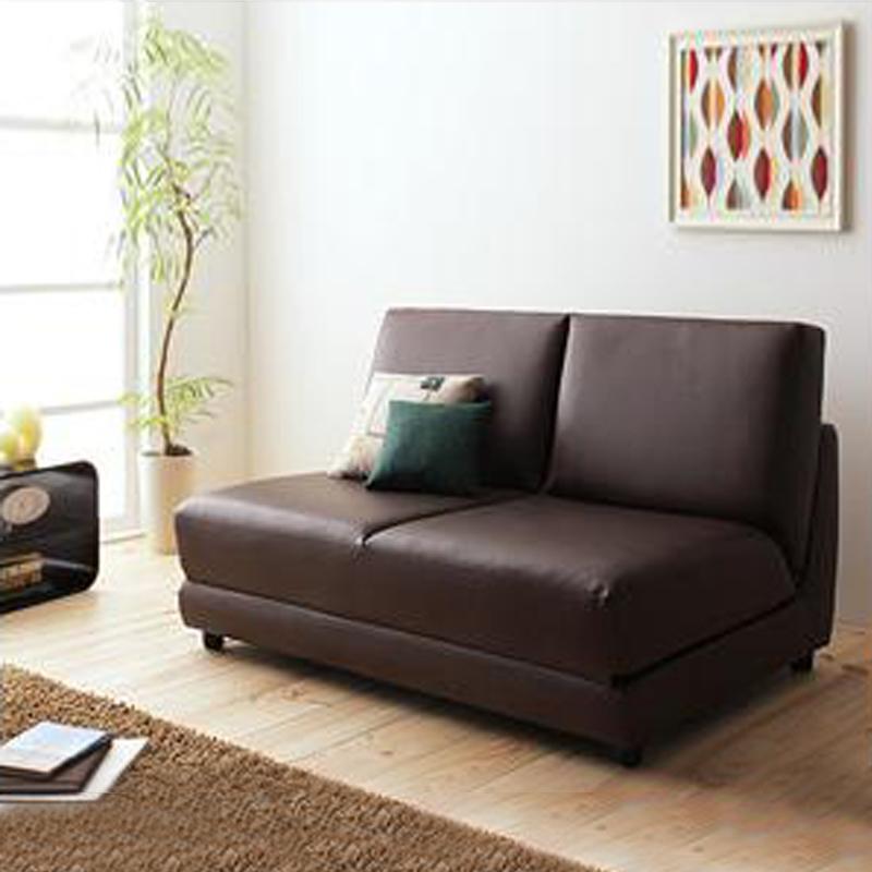 MR1.2m 雙人座位折疊梳化床啡色