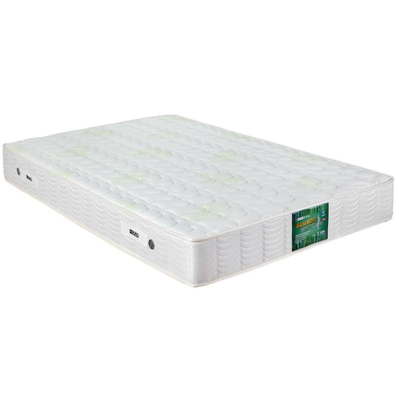 喜居樂竹纖維超護脊獨立彈簧床褥