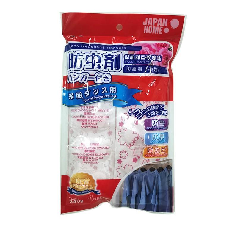 JAPAN HOME防蟲劑掛裝保加利玫瑰味240克